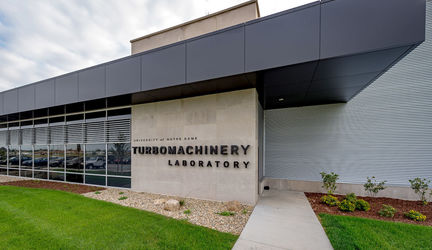 Notre Dame Turbomachinery Laboratory collaborates with Williams International to support jet engine testing